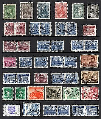 BULGARIA  Stamp Collection Early Issues  USED Ref:QE159
