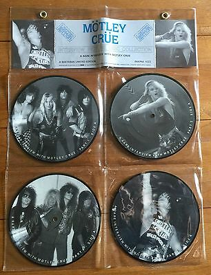 "Motley Crue   - Interview 4x7"" Picture Disc Collection (2)"