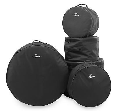 5-Teiliges Schlagzeug Taschen Set Gigbag Case Bass Snare Drum Tom Soft Bag Stage