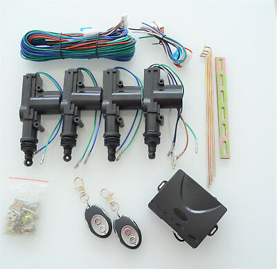 NEW UNIVERSAL REMOTE CENTRAL LOCKING KIT for any car or van
