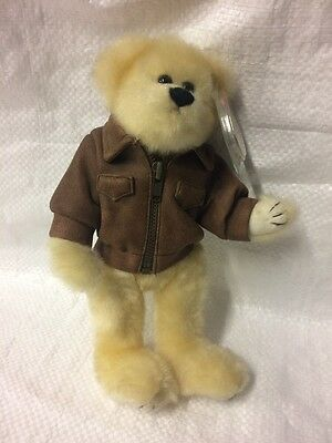 The Attic Treasures Collection - Baron- Fly High Bear In Flying Jacket
