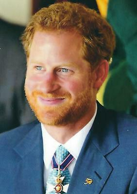 Postcard of Prince Harry of Wales