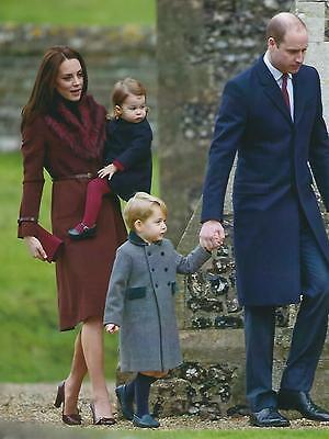 Photograph of Prince William, Catherine, Prince George & Princess Charlotte
