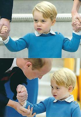 2 Postcards of Prince George of Cambridge
