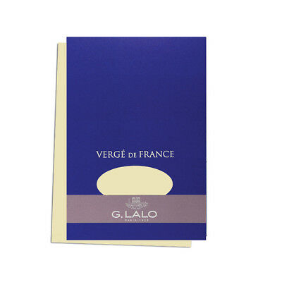 "G. Lalo Verge de France Watermarked Tablet, A5 (5.8"" x 8.3""), Ivory"