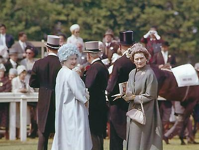 Photograph of Princess Alice, Duchess of Gloucester & The Queen Mother