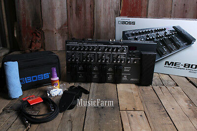 Boss ME-80 Guitar Multi Effects Pedal ME80 Expression Pedal with Bonus Pack!