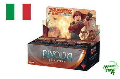 BOX 36 Buste Magic RIVOLTA DELL'ETERE - AETHER REVOLT Italiano Mtg Booster AER