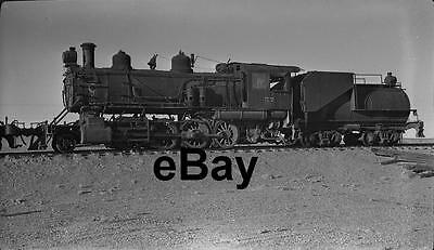 TONOPAH & GOLDFIELD No. 57 Steam Engine at Blair, Nevada in 1948 Orig Negative