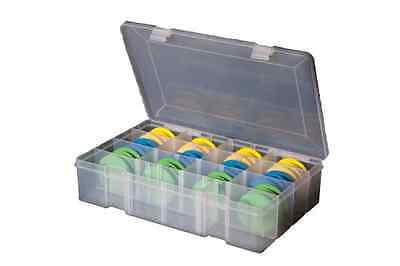 Leeda Sea Fishing Rig Storage Box with 24 Foam Winders