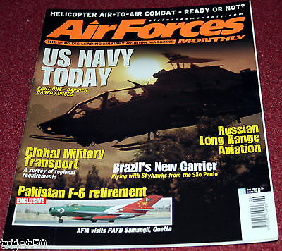 Air Forces Monthly 2002 June Pakistan,USN,Sea Sprite