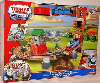 Mattel Fisher-Price Y3418 Thomas Spielset Zug King of the Railway Lok Lokomotive