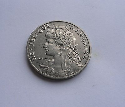 France , 25 Centimes 1905 in Good Condition.