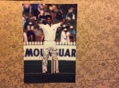 Bruce French cricket Nottinghamshire England signed 12x8 glossy photo