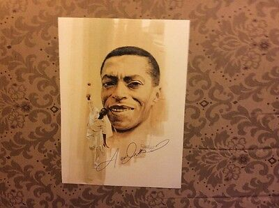 Cricket Lance Gibbs Warwickshire West Indies signed photo