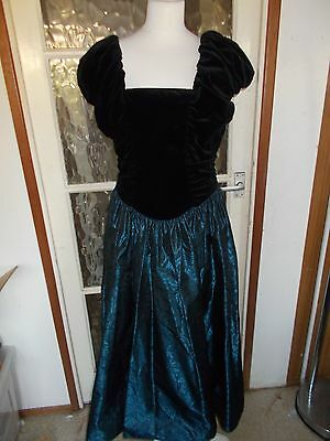 Vintage Laura Ashley Evening Dress