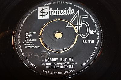 Isley Brothers - Nobody But Me / I'M Laughing To Keep From Crying - Vg++