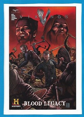 """Vikings_July 2014_Very Fine_""""blood Legacy""""_Sandiego Comic Con Exclusive_Sealed!"""