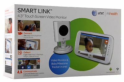 Baby's Journey AT&T mHealth Smart Link Touch Screen Video Monitor, 4.3 Inch
