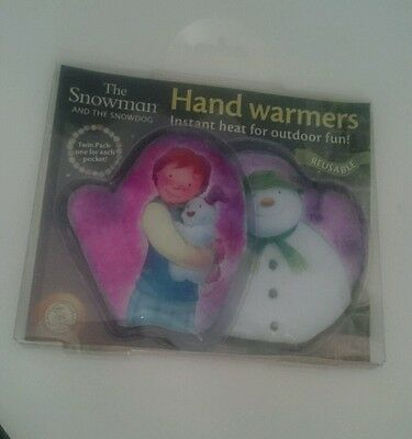 X2 The Snowman And The Snowdog Reusable Hand Warmers