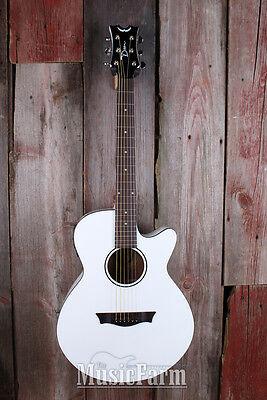 Dean AXS Axcess AXPECWH Performer Cutaway Acoustic Electric Guitar Classic White