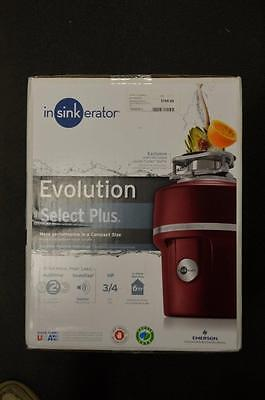 New Insinkerator Evolution Select Plus 3/4 HP Compact Size Food Waste Disposal