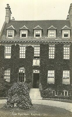 Easton The Rectory C1910 Real Photo Postcard