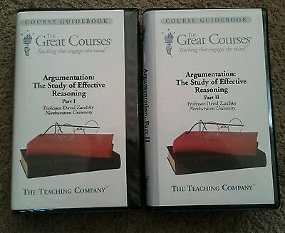 THE GREAT COURSES Argumentation: The Study of Effective Reasoning Part I & II