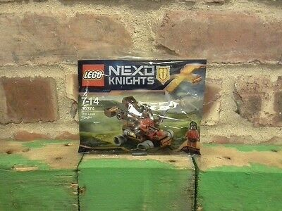 Lego Polybag 30374. Nexo Knights. The Lava Slinger With Minifigure.