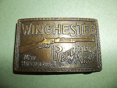 Men's Belt Buckle Winchester Repeating Arms