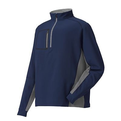 NEW! FootJoy Wind Shell Mid Layer Jacket - Large - Navy Charcoal #23391