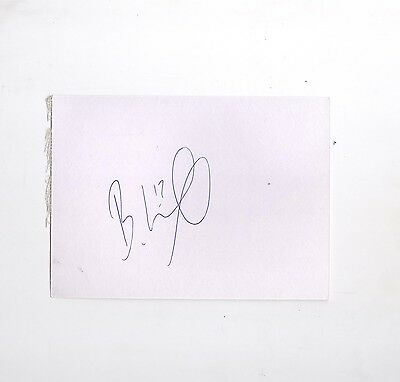 Rangers/Hearts  Billy King HAND SIGNED card