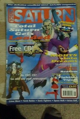 Total Saturn magazine issue 1 Sega Saturn
