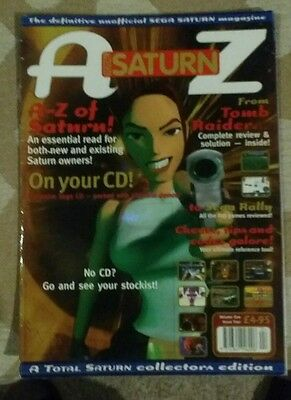 Total Saturn magazine issue 4 Sega Saturn
