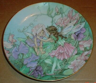 Heinrich W.Germany Villeroy And Boch THE SWEET PEA FAIRY Collectors Plate