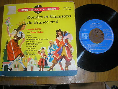 Rondes Chansons De France (Childrens Music) G/fold+12 Page Book Philips 09103