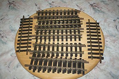 LGB G SCALE LOT of 12 STRAIGHT 1FT TRACK BRASS RAILS ITEM #1000 MODEL RR TRAIN P