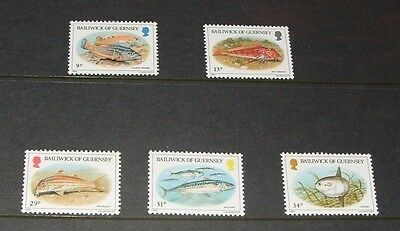 Guernsey Mint Stamps Fish 1985