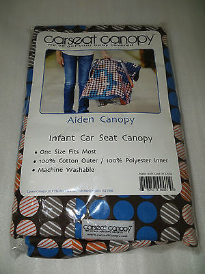 Carseat Canopy ~Fits All Makes And Models Of Infant Car Seats~New~