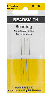 Needles Beading, English (#12) 4pc
