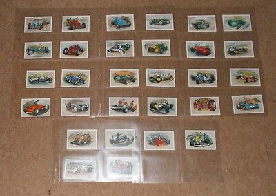 Cigarette Card Set CASTELLA ( Wills ) DONNINGTON COLLECTION 1993