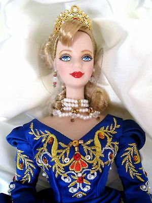 1998 Faberge Imperial Elegance Porcelain Collector Limited Edition Barbie New