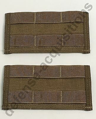 SET OF 2 NEW US Military MOLLE Dive Belt Adapter MOLLE Adapter COYOTE