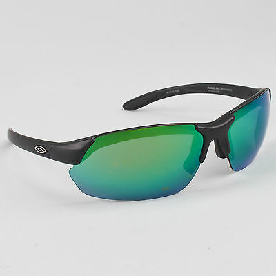 Smith Parallel Max Sunglasses Matte Black Frame Green Lens Road MTB Cycling