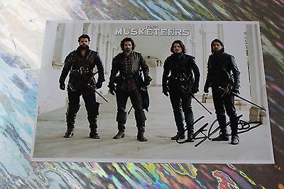 Luke Pasqualino (The Musketeers) Signed Cast Photo
