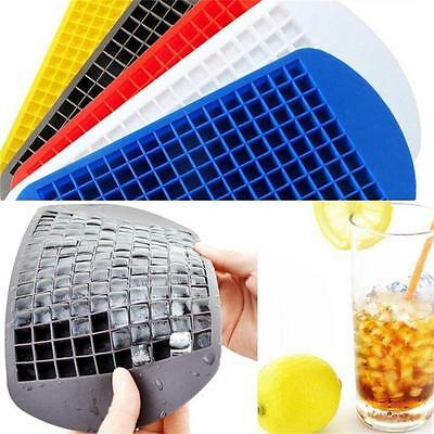 160 Mini Small Ice Cube Tray Frozen Cubes Trays Silicone Mold Bar Kitchen Party