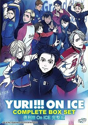 YURI!!! ON ICE TV Series | Episodes 01-12 | English Audio !! | 1 DVD (VS0037)-LU