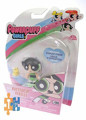 """BUTTERCUP REBELLE The Powerpuff Girls Spin Master 2016 Action Doll Figure """"NEW"""""""