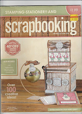 Stamping Stationary and Scrapbooking 4th Quarter Issue 2010