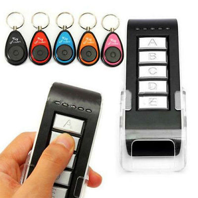 5 in 1 Remote Wireless Key Wallet Finder Receiver Lost Thing Alarm Locator NEW